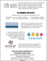Hyatt Hotel Information Brochure