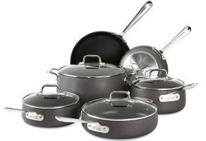 All-Clad E785SC64 Ha1 - Best Anodized Cookware Set