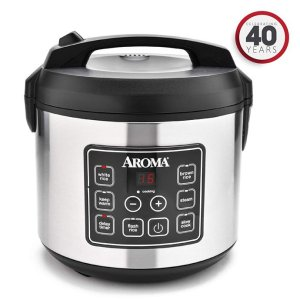 Aroma Housewares 20 Cup Cooked (10 cups uncooked) Digital Rice Cooker