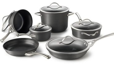 Calphalon Contemporary Nonstick 11 Piece Cookware Set