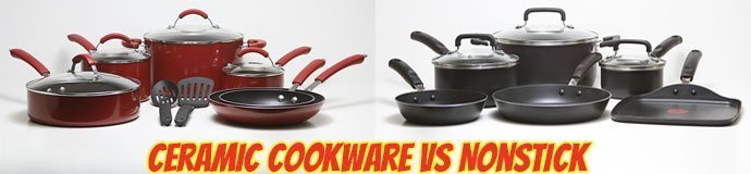 Ceramic Cookware Vs Nonstick
