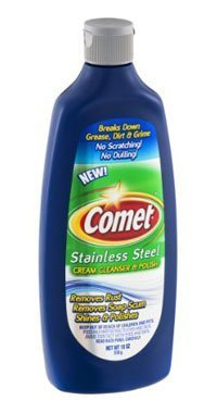 Comet Stainless Steel Cleaner and Polish