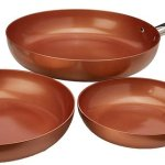 Copper Chef Round Pan 3 Pack