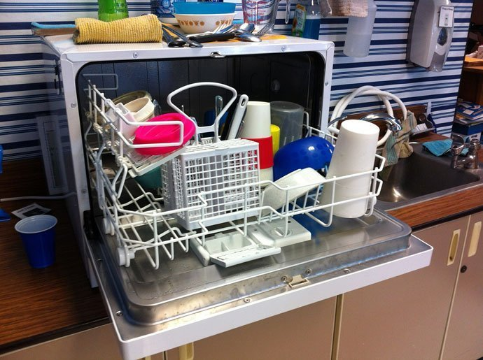 Avoid the Dishwasher Cleaning