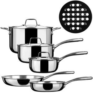 Duxtop SSC-9PC - Best Cookware for Gas Range
