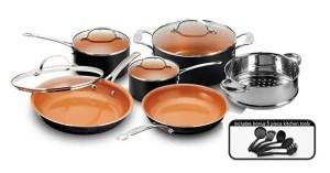 Gotham Steel 15-Piece Cookware Set