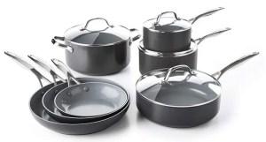 GreenPan CC000675-001 Valencia Pro Hard Anodized Ceramic Cookware