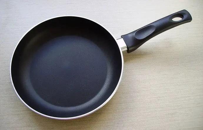 Aluminium or Hard Anodized Aluminium Frying Pan