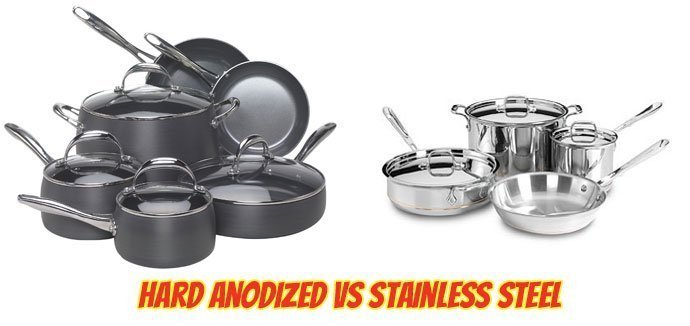 Hard Anodized Vs Stainless Steel