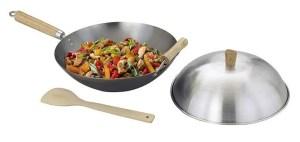 Helen Chen's Asian Kitchen Flat Bottom Wok