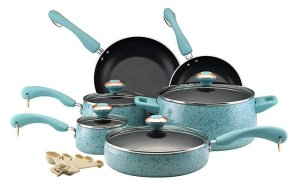 Paula Deen Signature Collection Porcelain Nonstick 15-Piece Cookware Set