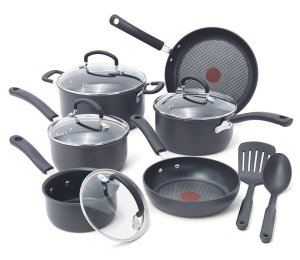 T-fal E765SC Dishwasher Safe Hard Anodized Cookware