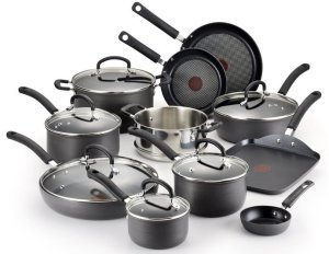 T-fal Hard Anodized Cookware Set