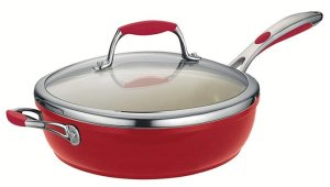 Tramontina 80110/061DS - Ceramic Frying Pan with Lid