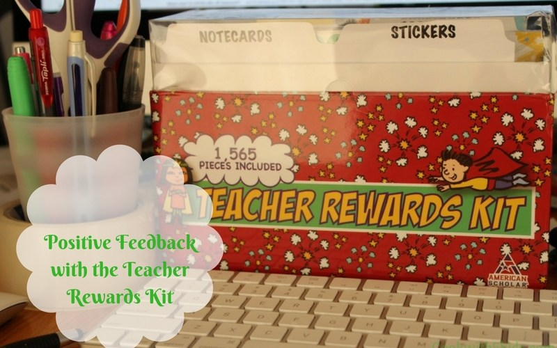 Positive Feedback with the Teacher Rewards Kit full review at www.cookwith5kids.com