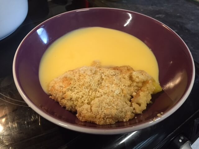 Coconut Pineapple Crumble..