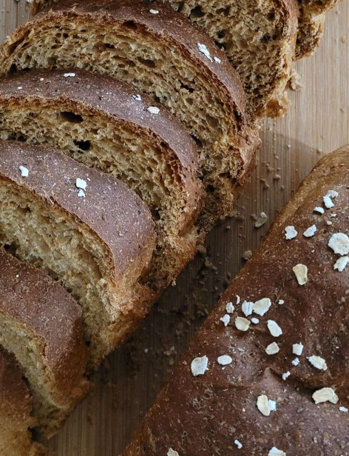 Homemade Oat Bread