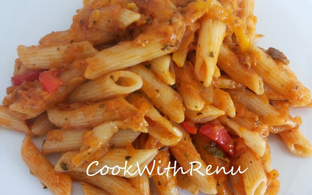 Butternut Squash Vegetable Pasta