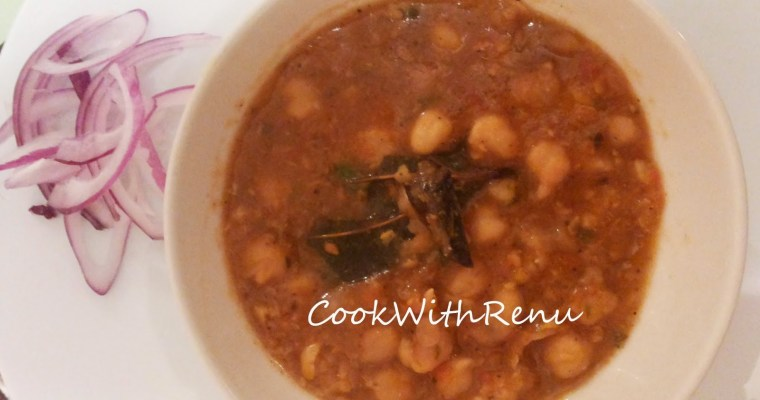 Chole (Indian Chickpeas curry)