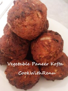 Vegetable Paneer Kofta