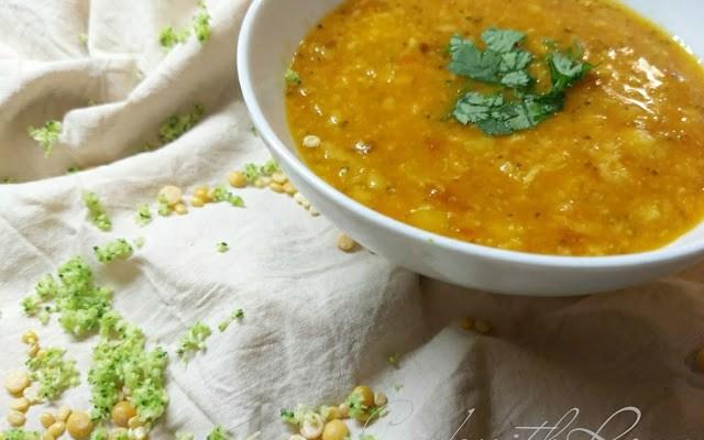 Broccoli Toor/Arhar Dal/Indian Lentil Soup