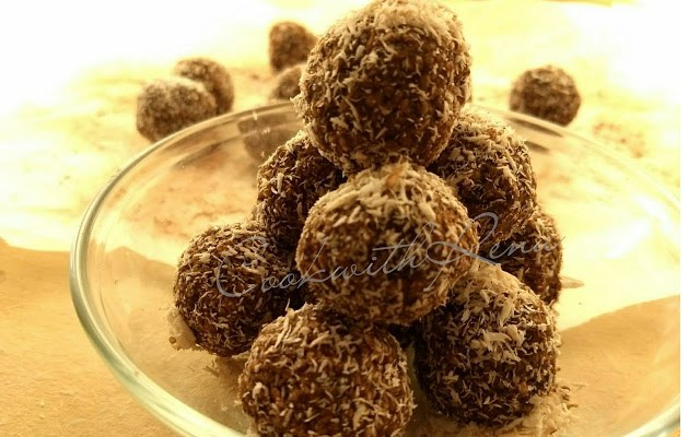 No-Bake Chocolate Ball (Chokladboll)