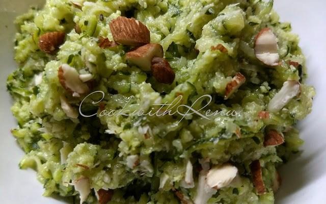 Zucchini/Courgette Halwa