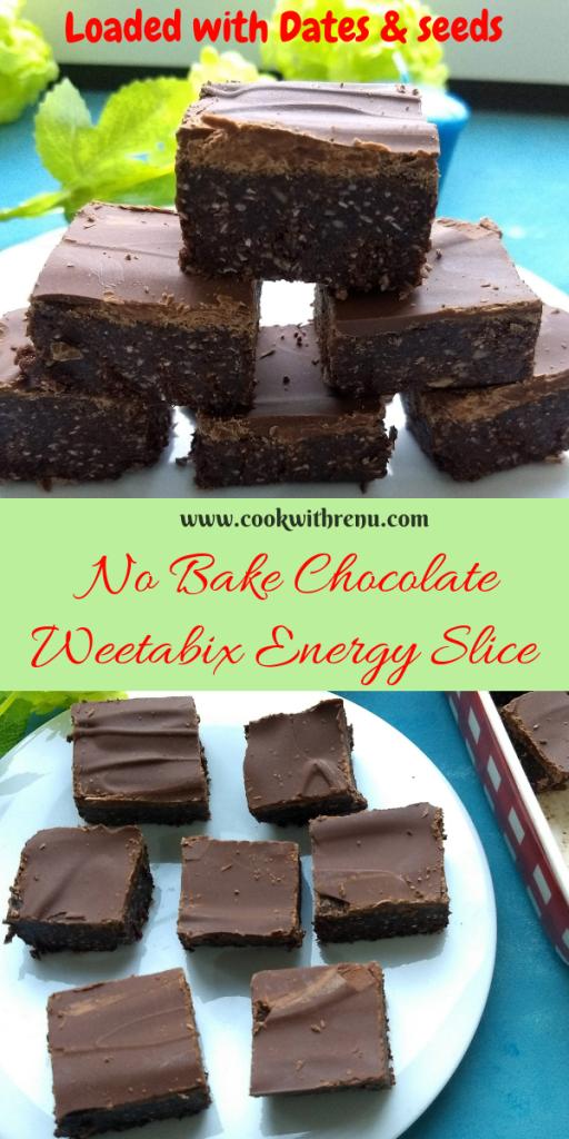 No Bake Chocolate Weetabix Energy Slice_Instagram