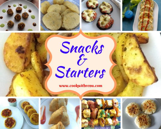 Collection of Snacks & Starters