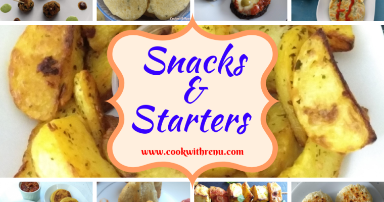 Compilation of Snacks & Starters
