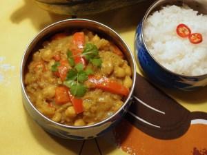 Chickpea and Spaghetti Squash Curry