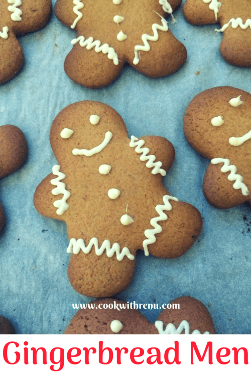 GingerBread Men - Get the kid's help you in making the Gingerbread Men and decorating them with this easy and yummy Recipe, which just calls for 8 ingredients.