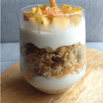 Apple Granola Overnight Oats