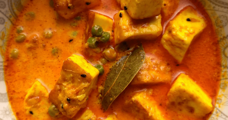 Sana Thongba|Manipuri Paneer curry