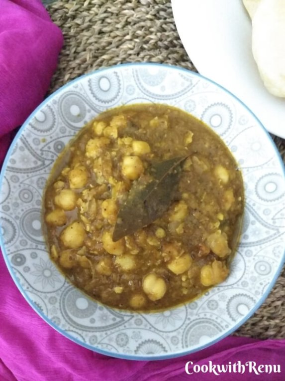 Chole | Indian Chickpeas Curry | Garbanzo Beans Curry | Chana Masala