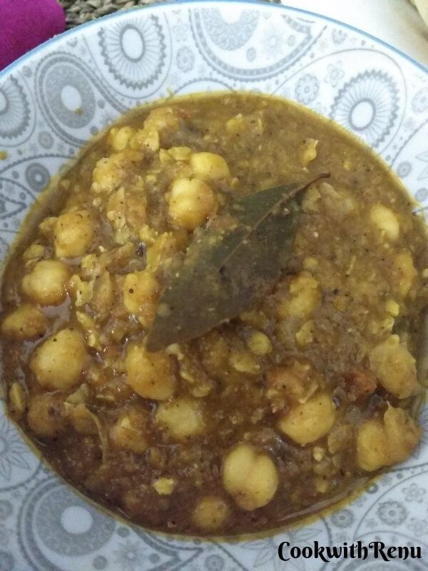 Chole   Indian Chickpeas Curry   Garbanzo Beans Curry   Chana Masala