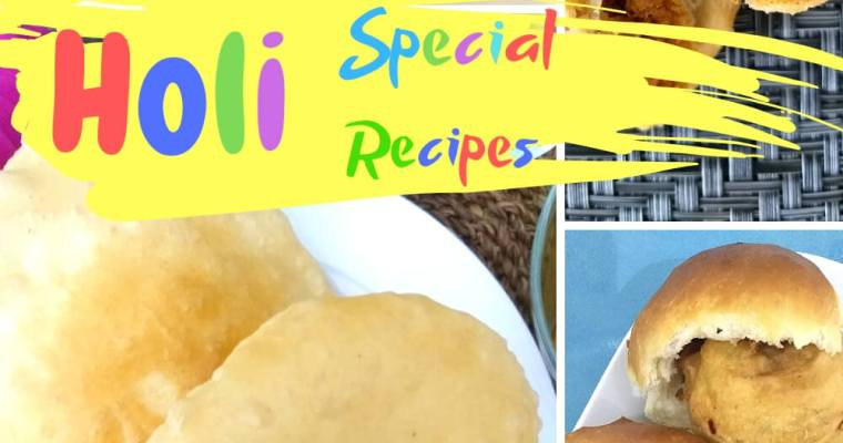 Lip-Smacking Holi Special Delicacies
