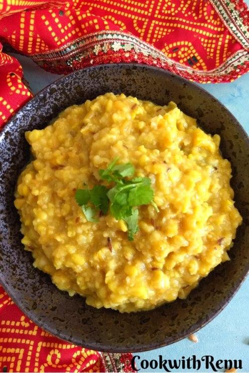 Gehun ki Bikaneri Khichdi | Whole Wheat Khichdi
