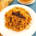 Puliyodharai  Tamarind Rice