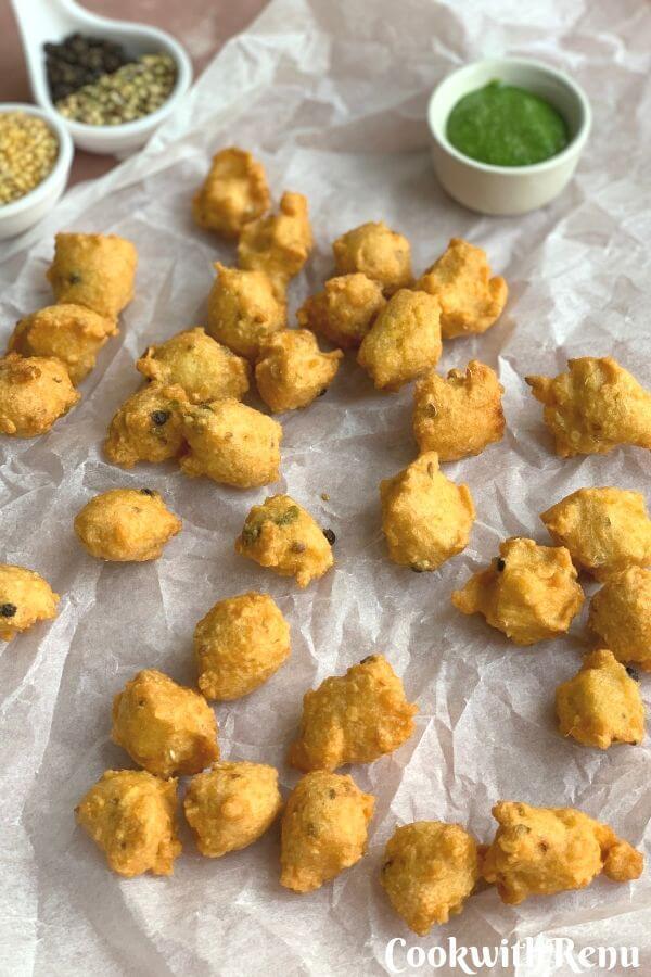 Moong Dal Pakoda (Fritters)