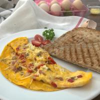 經典歐姆蛋-簡單又好吃的西式早餐食譜