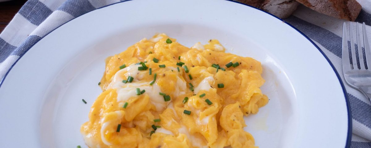 Perfect Scrambled Eggs Breakfast Recipe