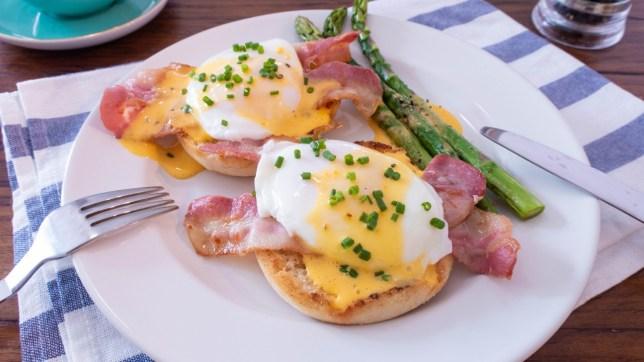 煙肉培根鮮籚筍班尼迪克蛋早午餐食譜