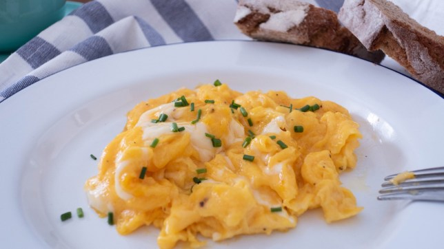 香滑的西式早餐炒蛋食譜