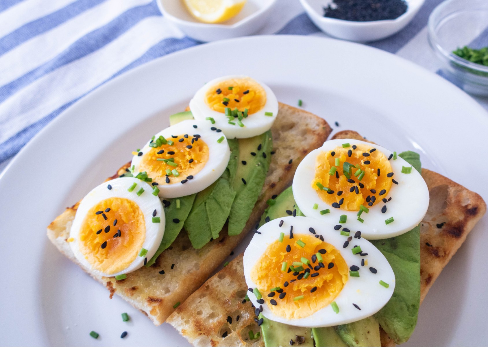 Boiled Eggs Avocado on Toast Recipe