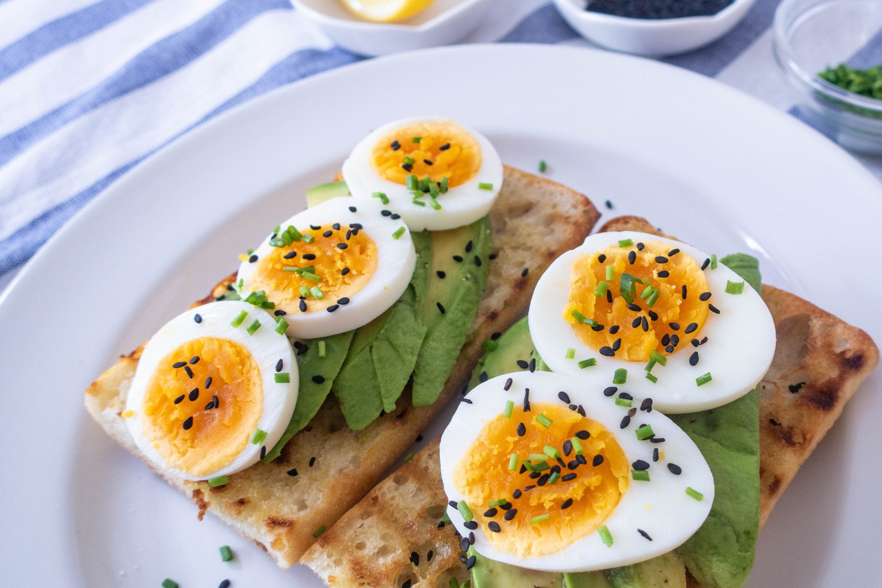 Boiled Eggs Avocado on Toast Recipe