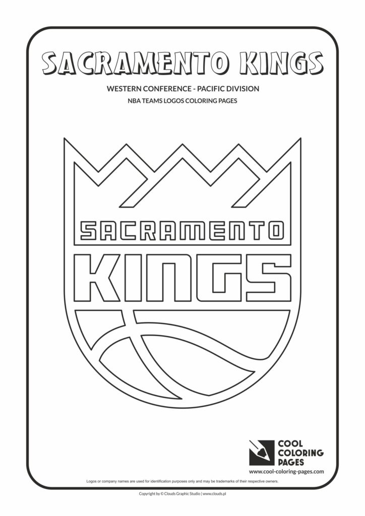 Calligraphy Flowers Cool Coloring Pages Sacramento Kings - Nba Basketball