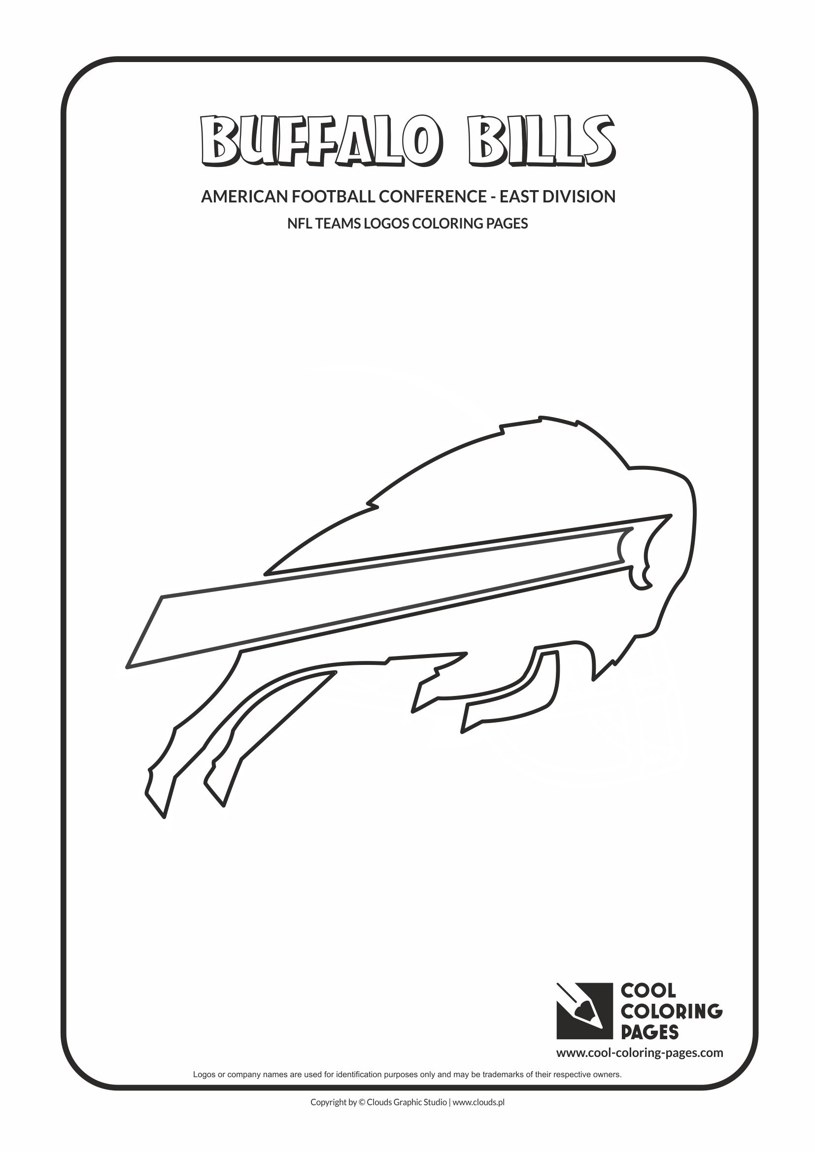 Buffalo Bills Coloring Pages : buffalo, bills, coloring, pages, Coloring, Pages, Buffalo, Bills, American, Football, Teams, Logos, Educational, Activities