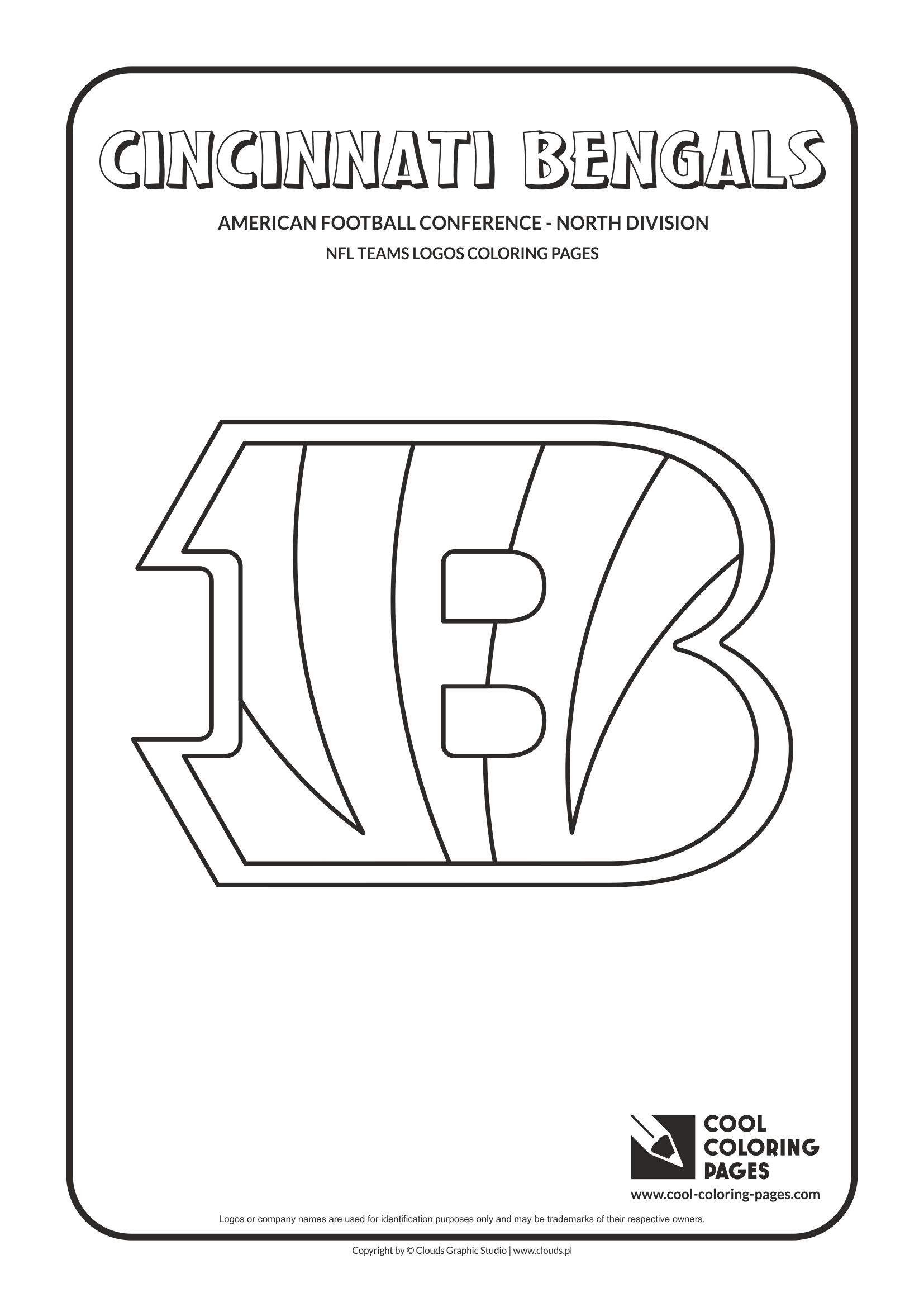 Nfl Coloring Page : coloring, Coloring, Pages, Teams, Logos, Educational, Activities