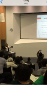Lecture in June